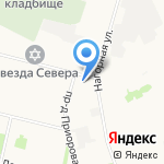 Орхидея на карте Архангельска