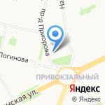 Стремление на карте Архангельска