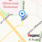 Центр медицины катастроф на карте Архангельска