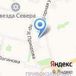 Архангельская детская стоматологическая поликлиника на карте Архангельска