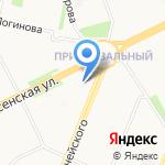 Алина на карте Архангельска
