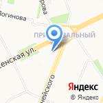 Тандем на карте Архангельска