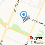 Хорошие окна и двери на карте Архангельска