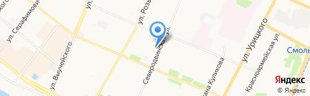 SOS-ПРИЗЫВ на карте Архангельска