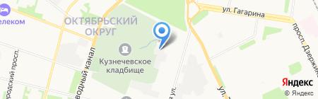 Вольт-Сервис на карте Архангельска