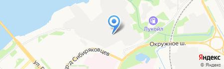 Универсал-Техно на карте Архангельска