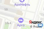 Схема проезда до компании 29 колёс в Архангельске
