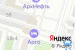 Схема проезда до компании Торжество в Архангельске