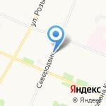 Газпром газораспределение Архангельск на карте Архангельска