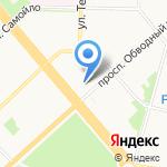 ШинСервис на карте Архангельска