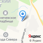 Яки`Да Restaurant Group на карте Архангельска