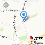 Магазин овощей на карте Архангельска