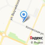 Энергосервис на карте Архангельска