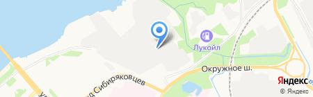 Континент-Сервис на карте Архангельска