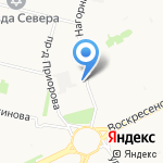 Торговая сеть на карте Архангельска