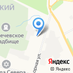 Архангельскоблгаз на карте Архангельска