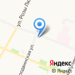 Центр возмещения ущерба на карте Архангельска