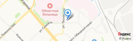 ЛИГА-Комплект на карте Архангельска