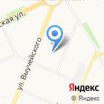 Форт Нокс на карте Архангельска