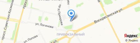 The OFFICE Nargilia на карте Архангельска