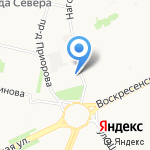 Мед от Мусихиных на карте Архангельска