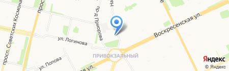 Экспозиция на карте Архангельска