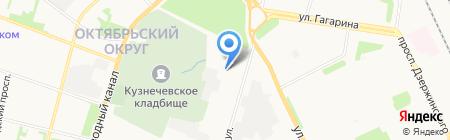 Чистый воздух на карте Архангельска