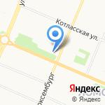 Бюро ремонтов на карте Архангельска