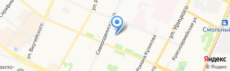 Архангельская городская клиническая поликлиника №2 на карте Архангельска