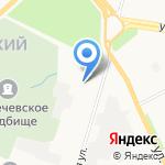 Конфетти на карте Архангельска