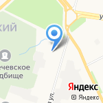 МиТа на карте Архангельска