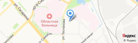 БайкАл на карте Архангельска