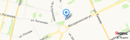 Проfish на карте Архангельска