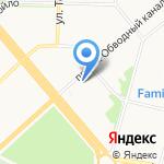 СП-сервис на карте Архангельска