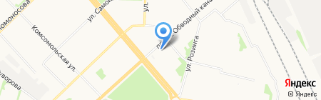 СП-сервис1 на карте Архангельска