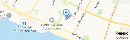 Респект на карте Архангельска