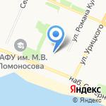 Колыбель на карте Архангельска