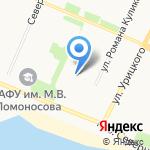 АкваСтрой-Архангельск на карте Архангельска