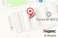 Схема проезда до компании Почтовое отделение в Соколе