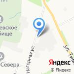 Стигла на карте Архангельска