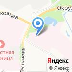 Архангельский областной клинический онкологический диспансер на карте Архангельска