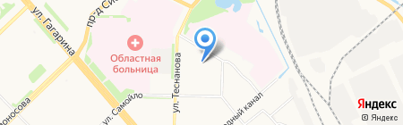 Астрон-М на карте Архангельска