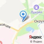 Колесо на карте Архангельска