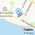 Элефант на карте Архангельска