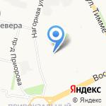 Средняя общеобразовательная школа №10 на карте Архангельска