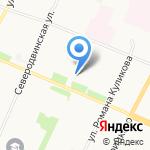 Поморское юридическое агентство на карте Архангельска