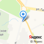 Солнышко на карте Архангельска