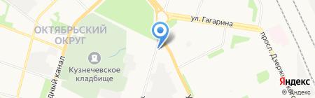 Я29 на карте Архангельска