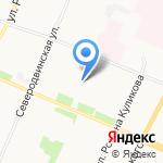 Макс на карте Архангельска