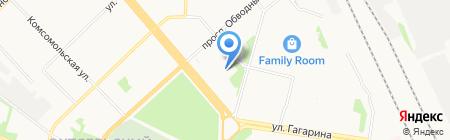 Детский сад №3 на карте Архангельска